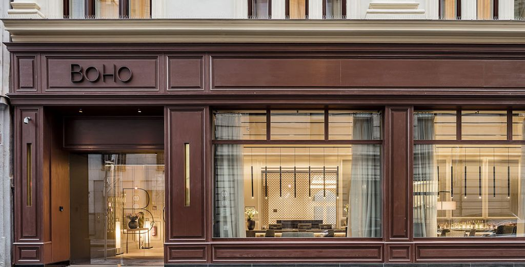 An icon of exclusiveness and luxury in the heart of the city