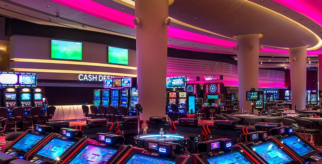 Try your luck at the Casino!