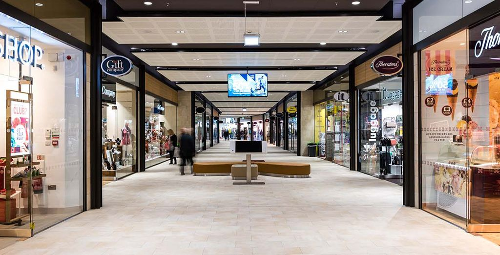 Shop till you drop or catch a concert
