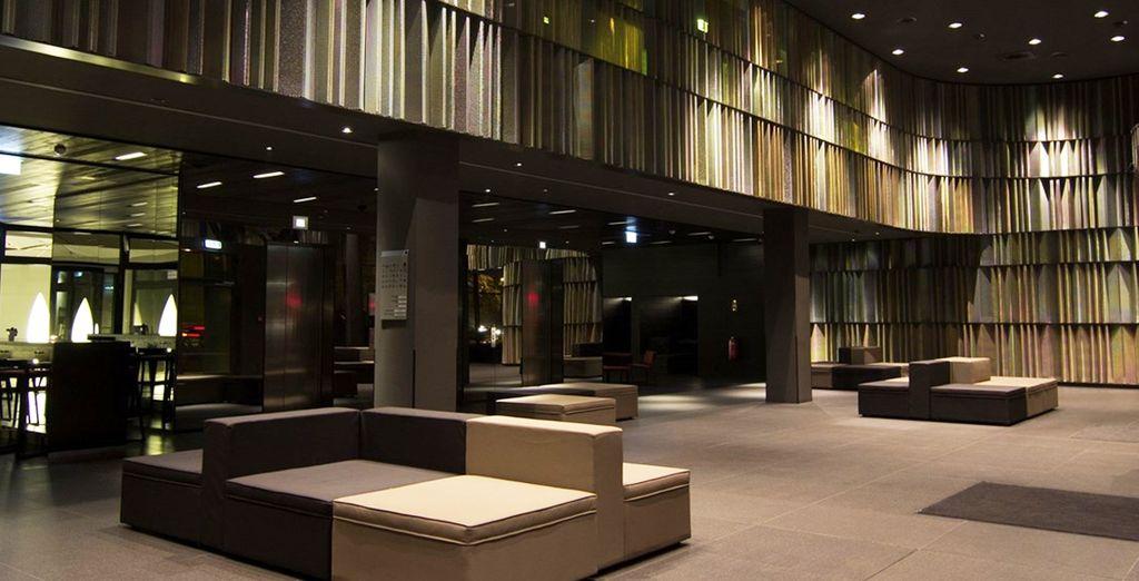 Featuring minimalist modern interiors