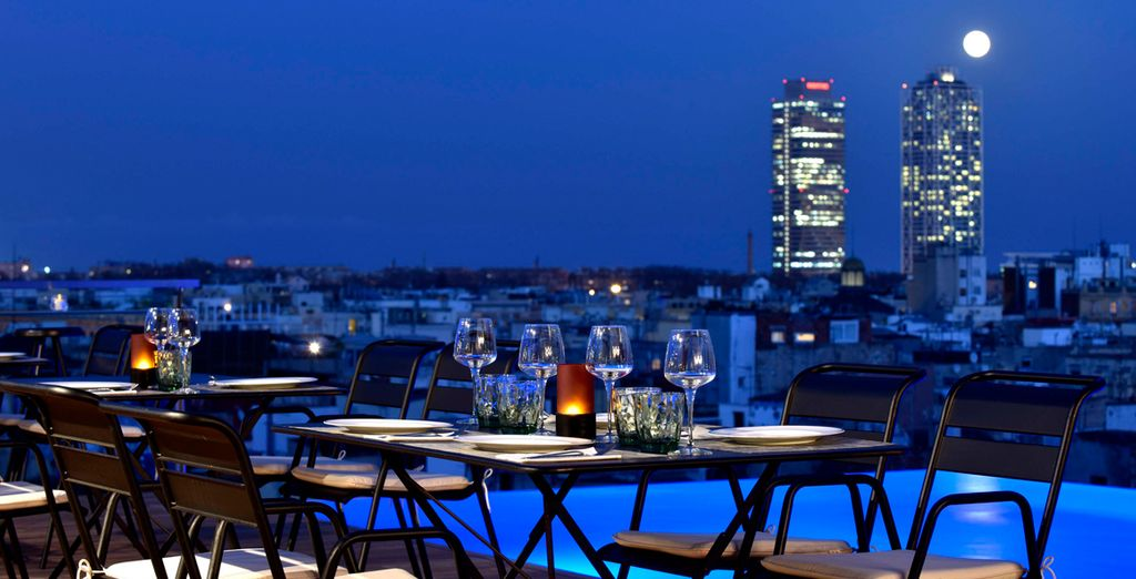Admire unique views of... - Grand Hotel Central 5* Barcelona