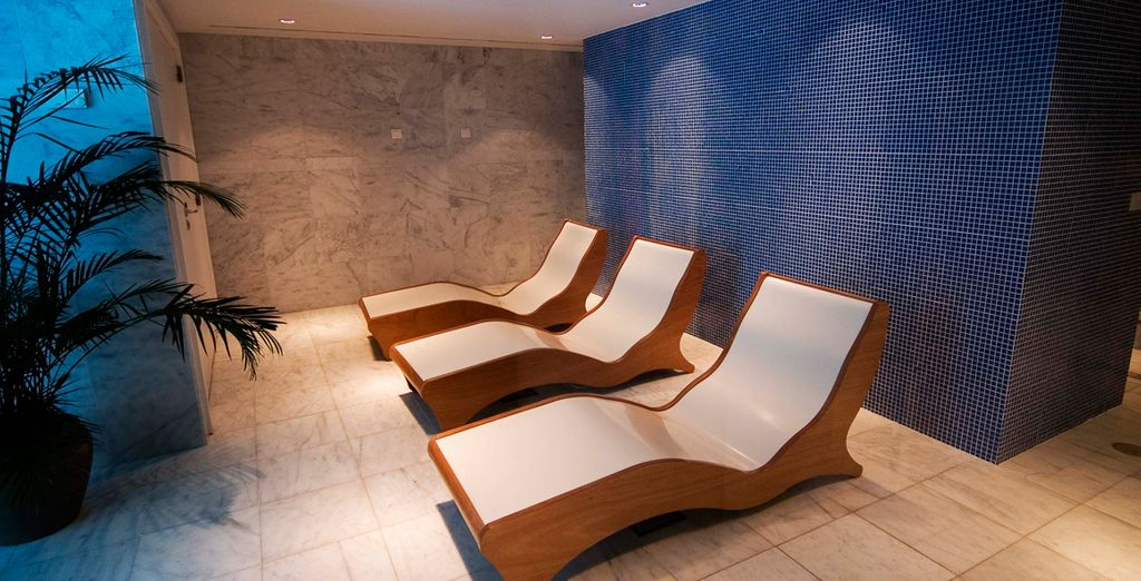 Then check out the luxury spa