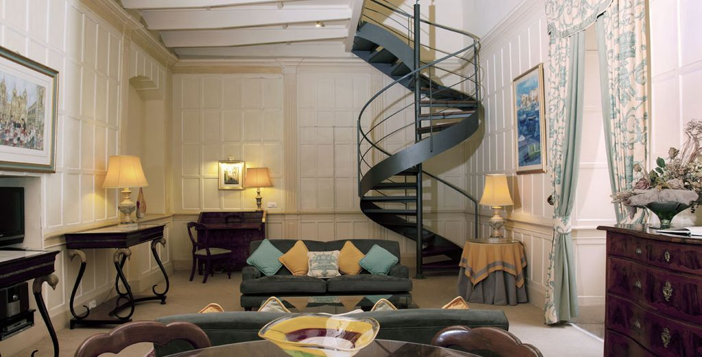 Featuring elegant décor...