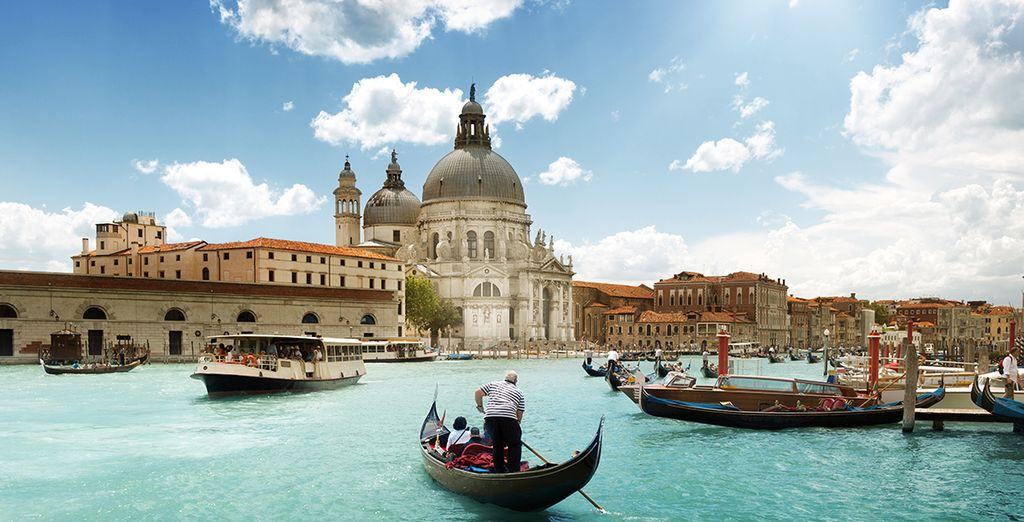 The unique elegance of Venice is just a boat ride away