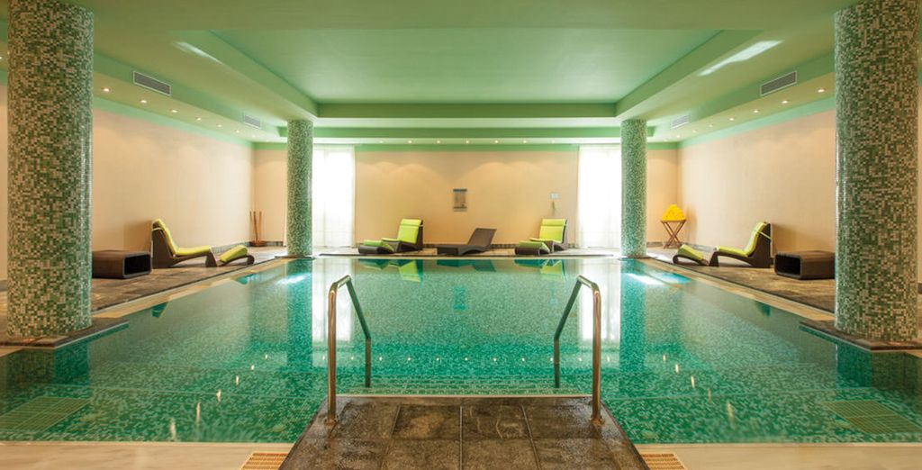 Or escape the heat and unwind in Helona Resort's tranquil spa