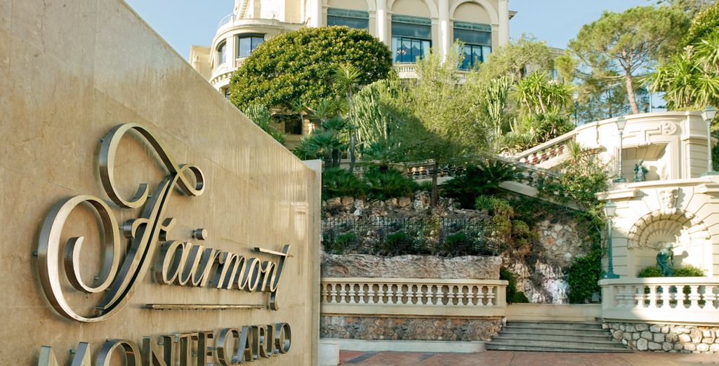 Enjoy an effortlessly stylish stay at the Fairmont Hotel