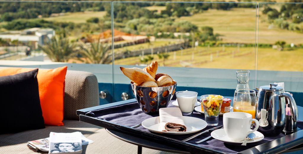 Enjoy a fantastic breakfast each morning
