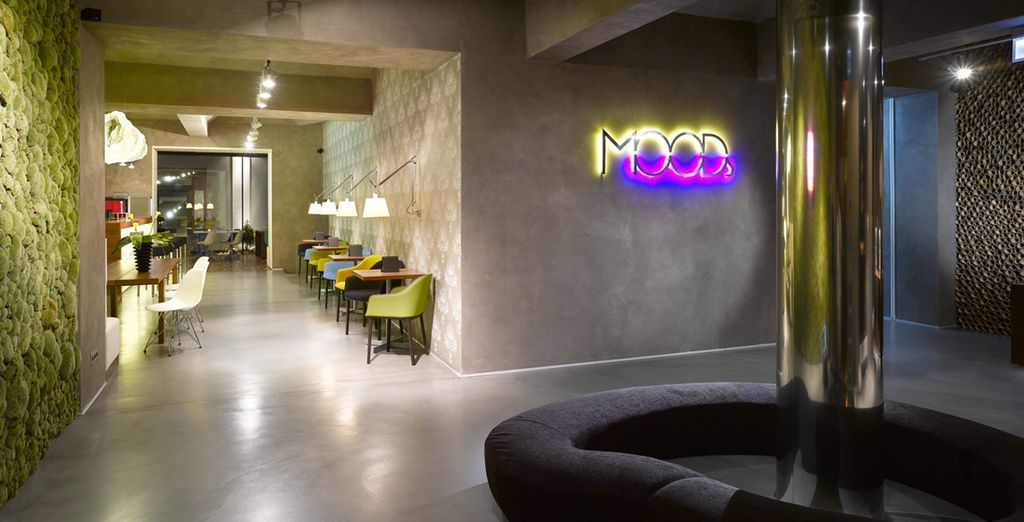 In a chic design property - MOODs Boutique Hotel - MOODs Boutique Hotel 4* Prague