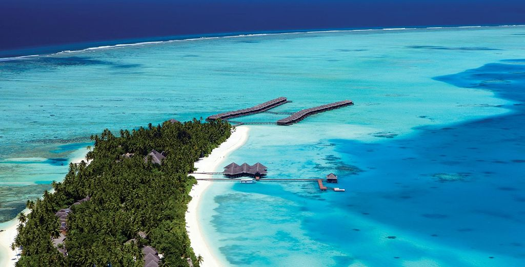 On this gorgeous island