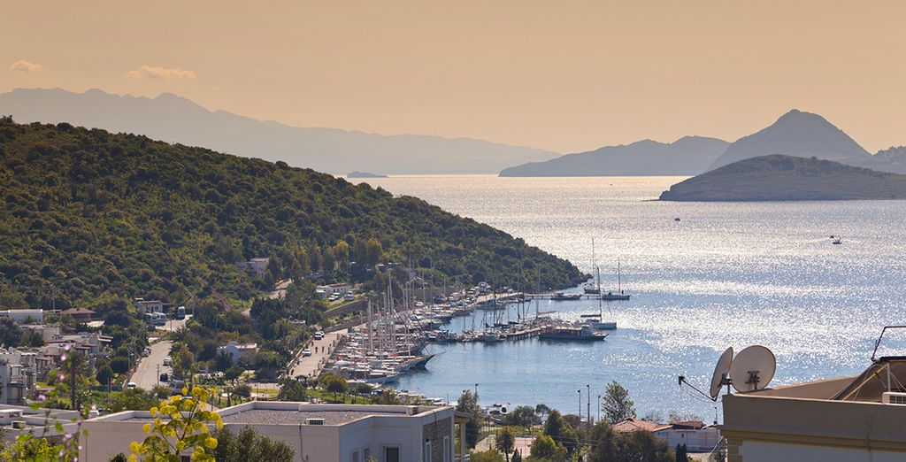 Or set out to explore the beautiful Bodrum Peninsula