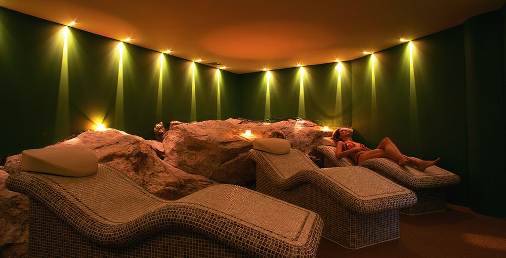 Which includes daily access to the spa