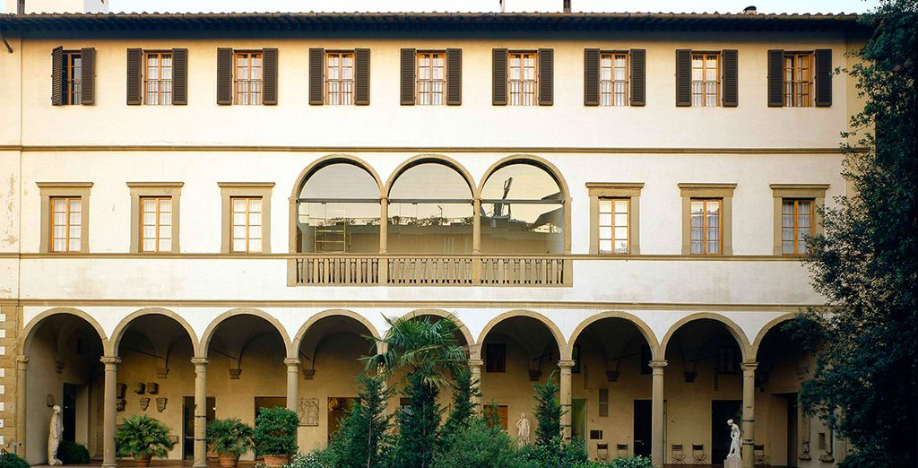 Welcome to the Hotel Palazzo Ricasoli 4*