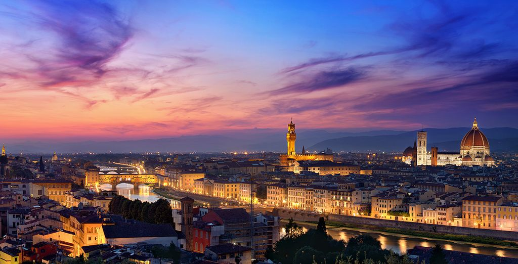 You are just a short walk away from some of Florence's best landmarks