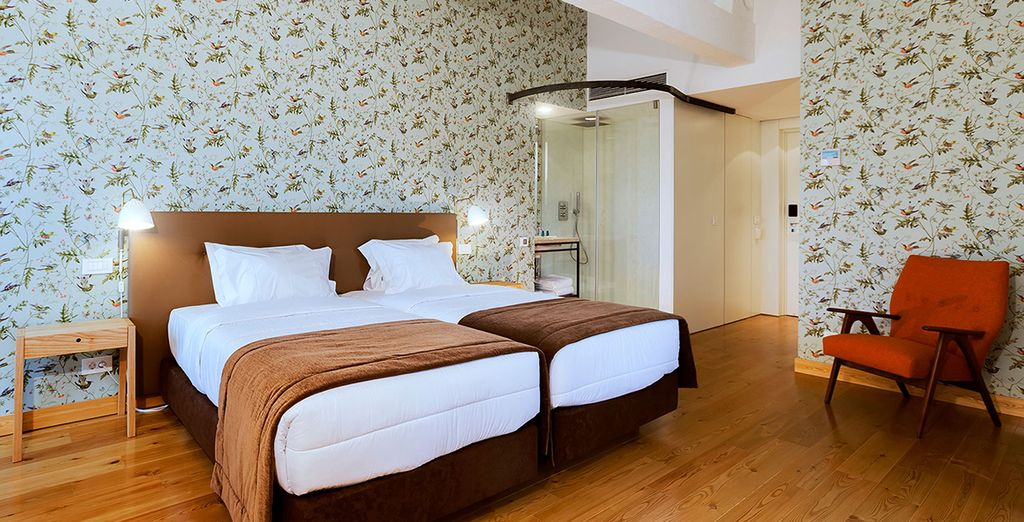 Stay in one of the hotel's 45 guestrooms
