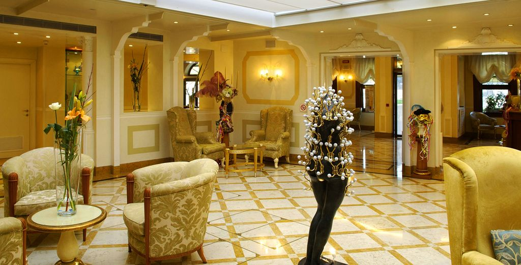 An elegant hotel with an outstanding location