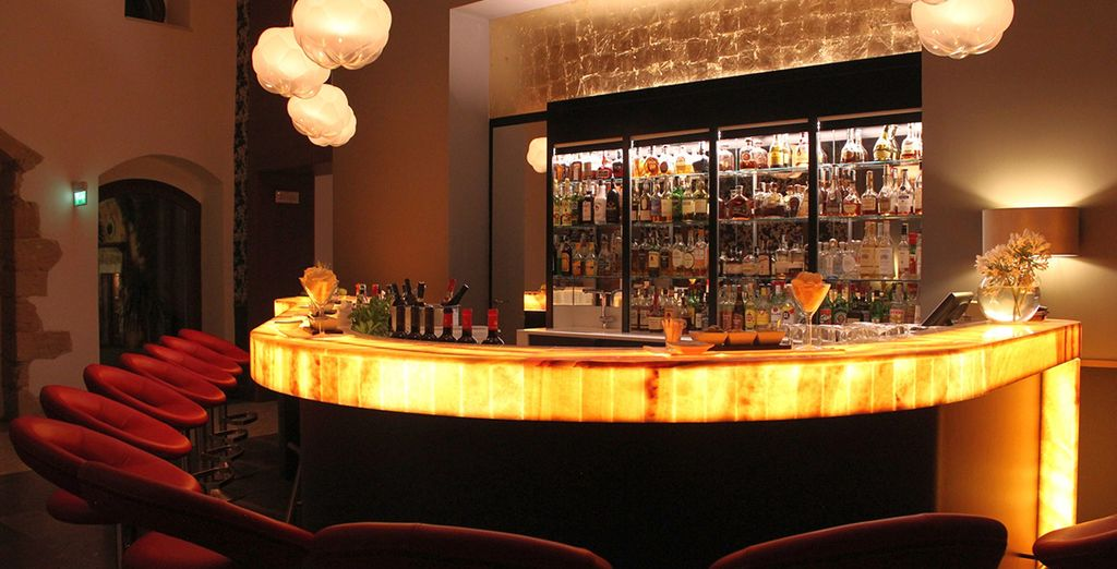 Enjoy a relaxing cocktail at the Night Bar