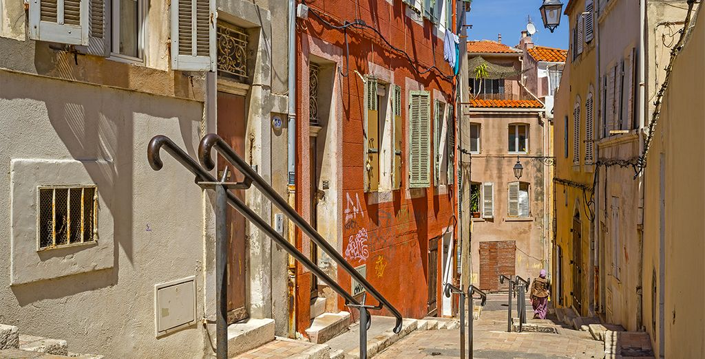 And head out to explore the streets of Marseille!
