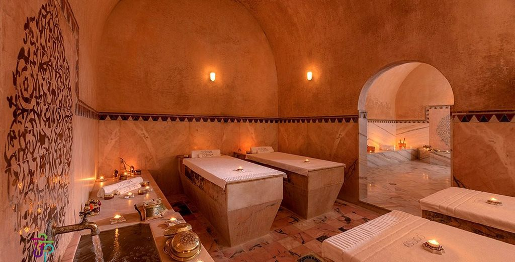 Or retreat to the traditional spa to rejuvenate your senses