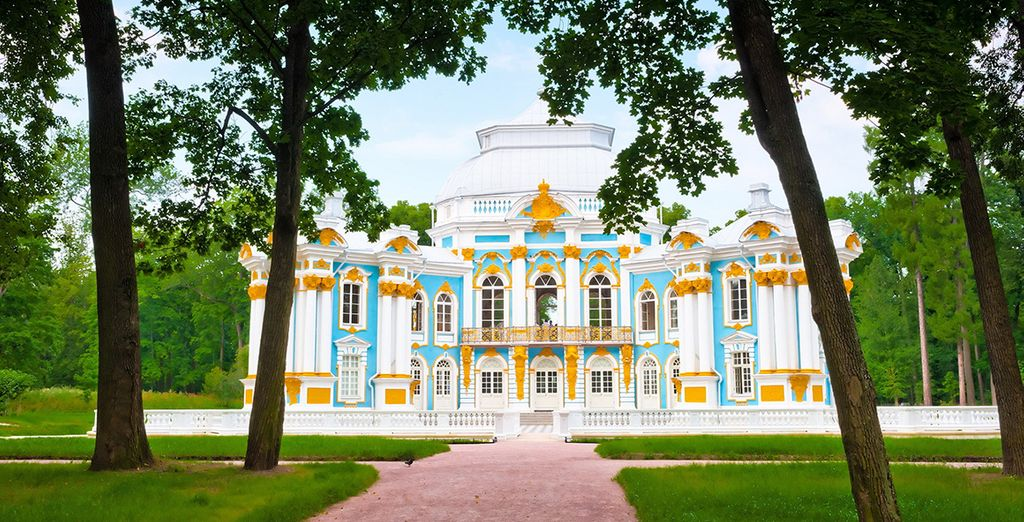 Stay in the centre of Saint Petersburg and explore its rich history