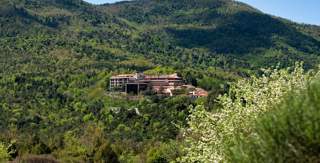 Nestled in the Tuscan countryside