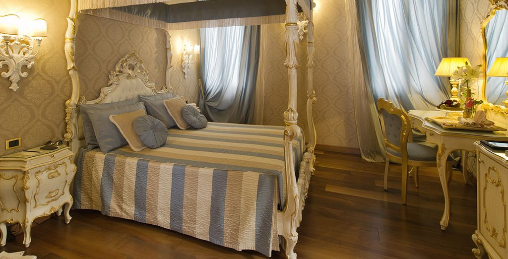 Relax in your elegantly designed Superior Room
