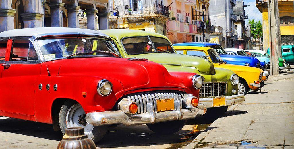 Start your trip by exploring Havana!