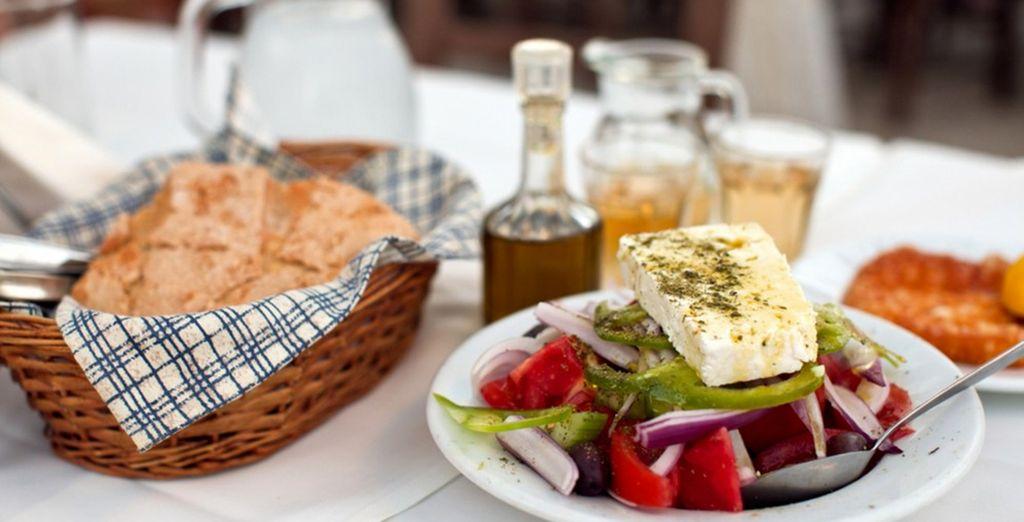 Feast on fresh Mediterranean cuisine
