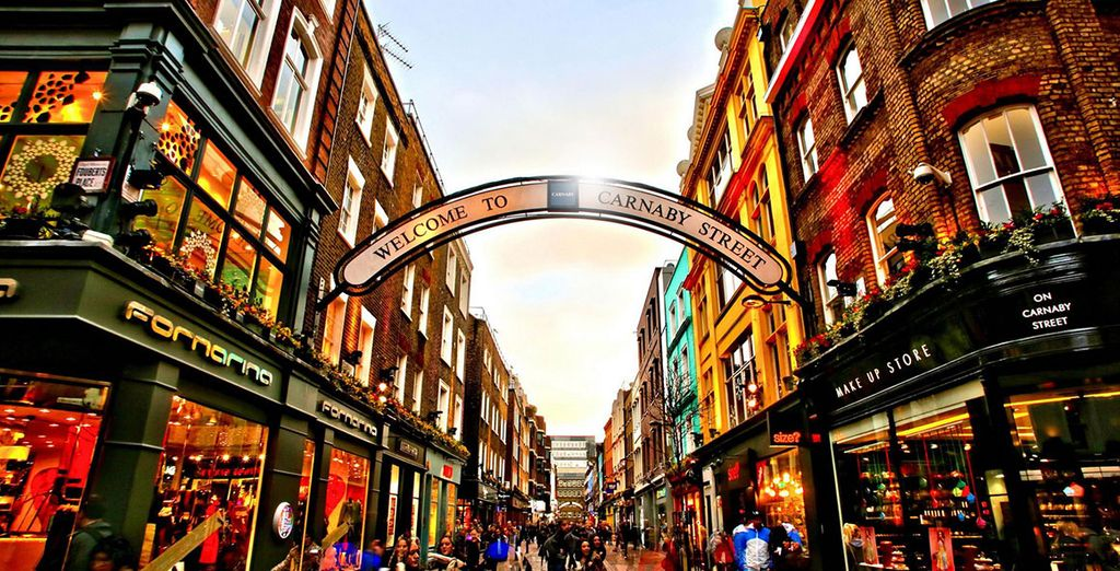 Travel Guide in London : Best shopping area