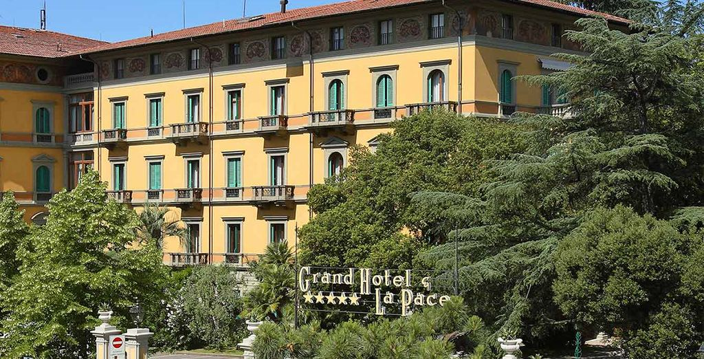 At the 5* Grand Hotel La Pace - Grand Hotel & La Pace 5* Montecatini-Terme