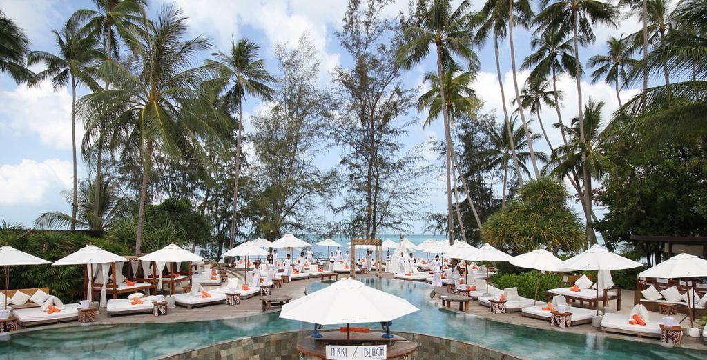 A place where luxury and attentive service reigns - Nikki Beach Resort & Spa Koh Samui 5* & Optional AETAS Lumpini Bangkok 5* Koh Samui