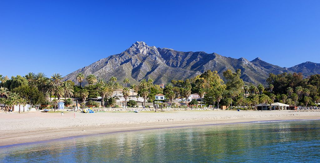 An excellent holiday is waiting at the Costa del Sol