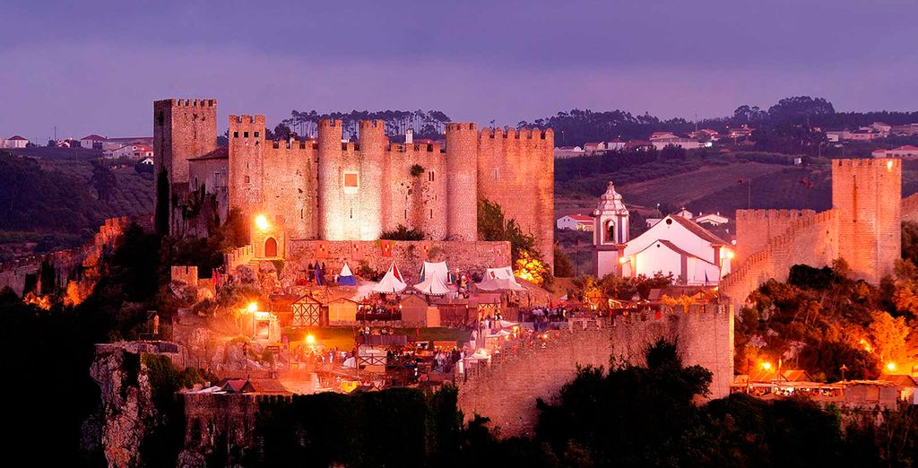 In the western town of Obidos, famed for its magical castle
