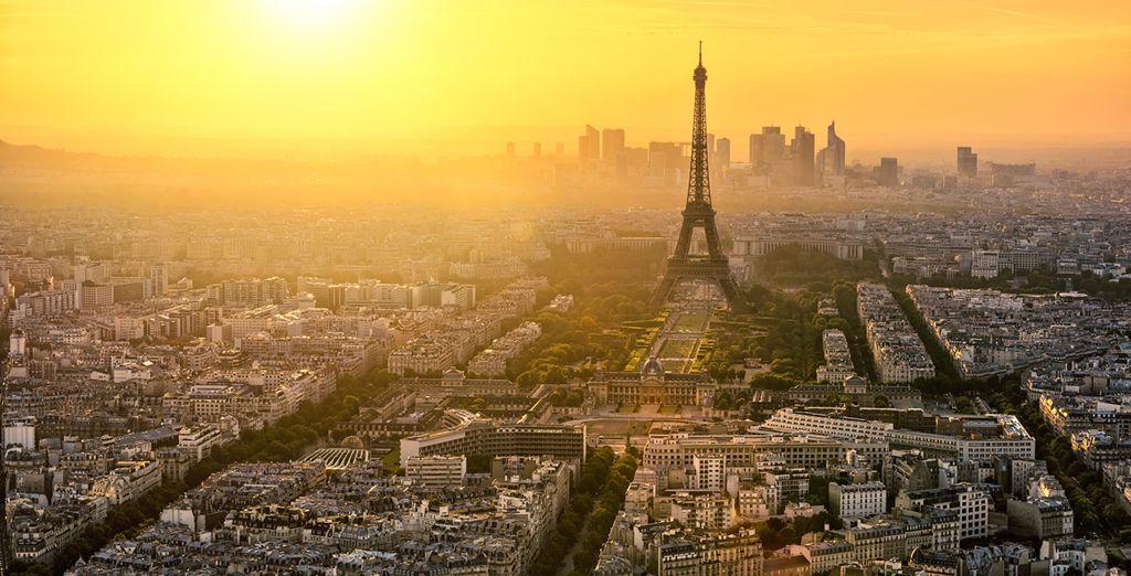 Beautiful Paris is at your fingertips