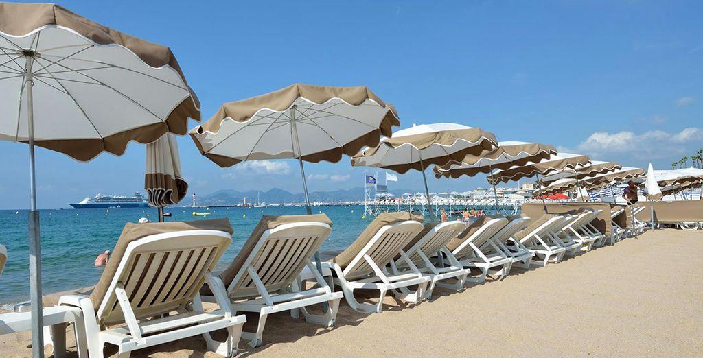 Soak up the sun on the beaches