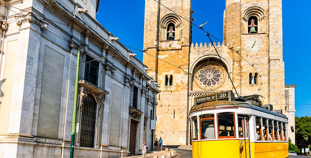 Witness Lisbon's famous sights