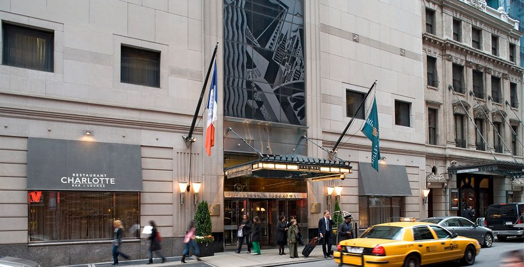 Book a stay at the 4* Millennium Broadway Hotel