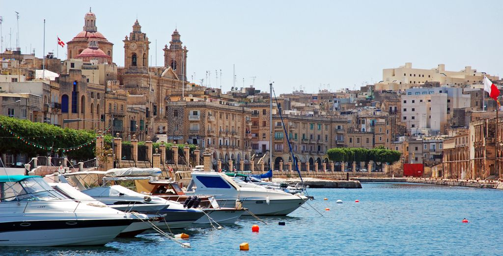 Or take a trip to the pretty island capital Valetta, just 15km away
