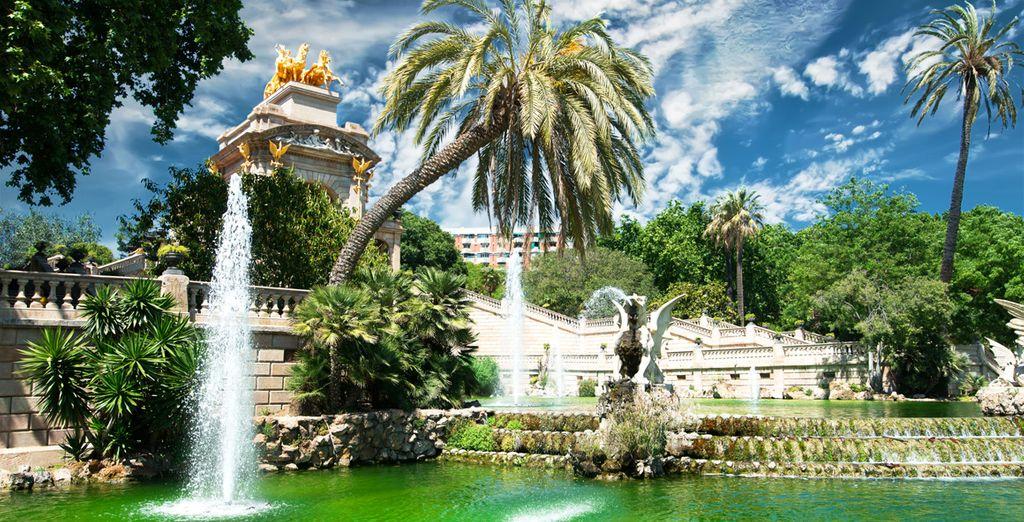 Discover Barcelona's parks