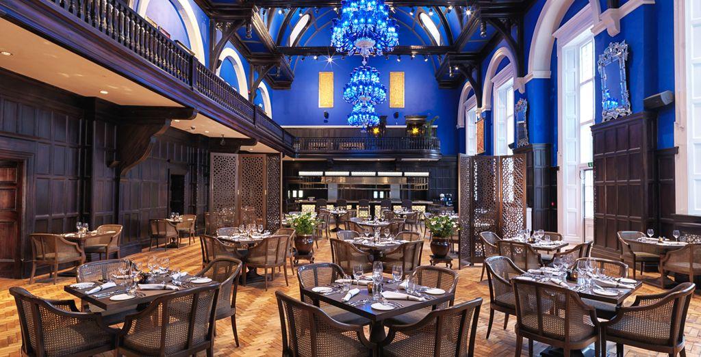 Enjoy memorable dinners in an enchanting setting