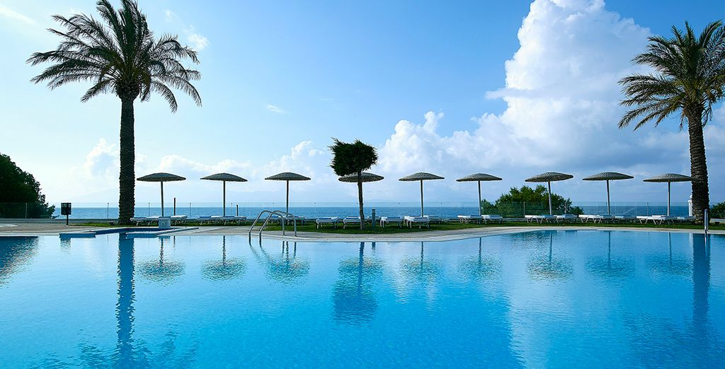 At Dimitra Beach Hotel, Kos
