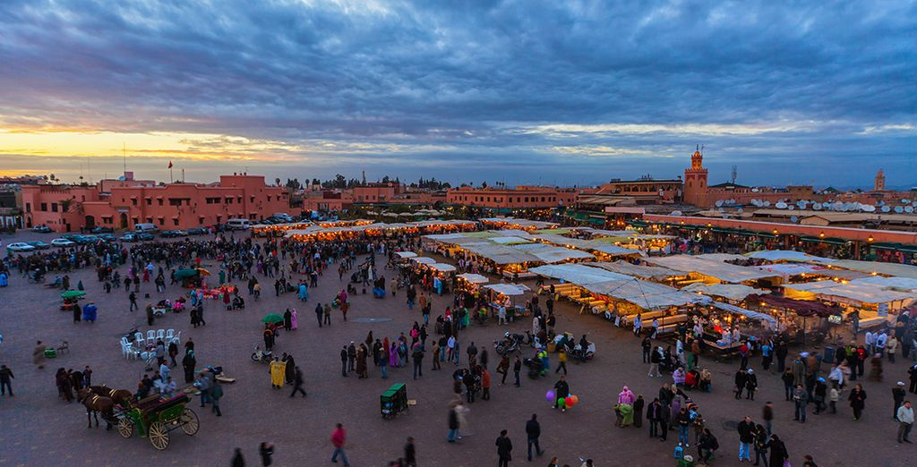 Explore Marrakech...