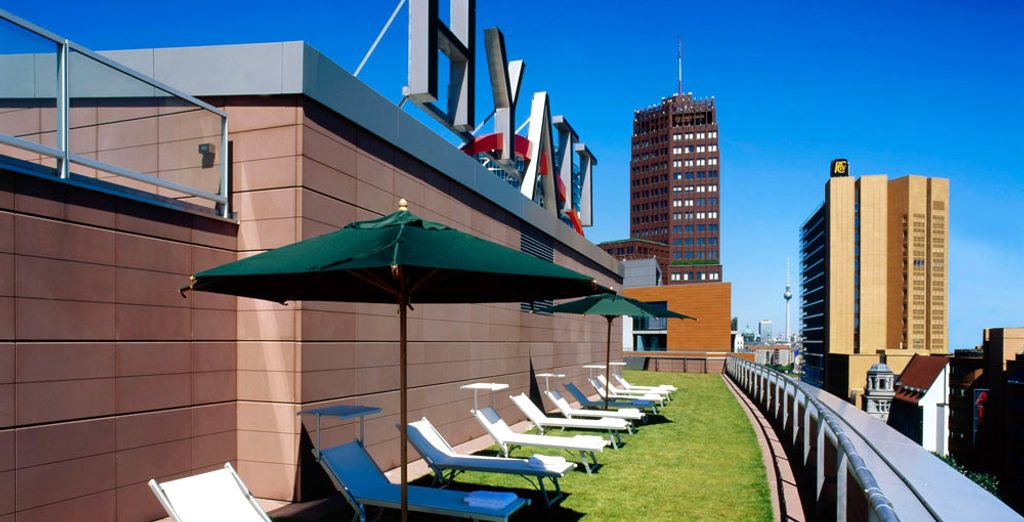 Why not take in the hotel's excellent views with a delicious drink in hand?