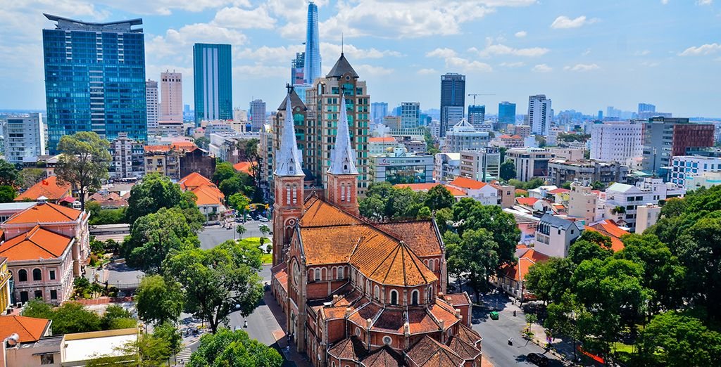 Enjoy exciting excursions from Ho Chi Minh City