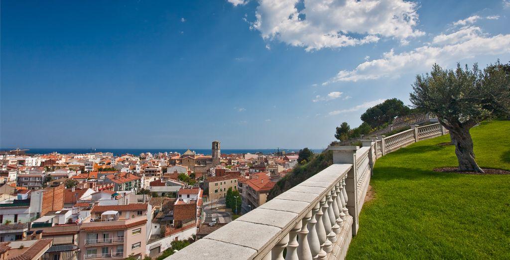 Located in the tourist centre of Malgrat de Mar