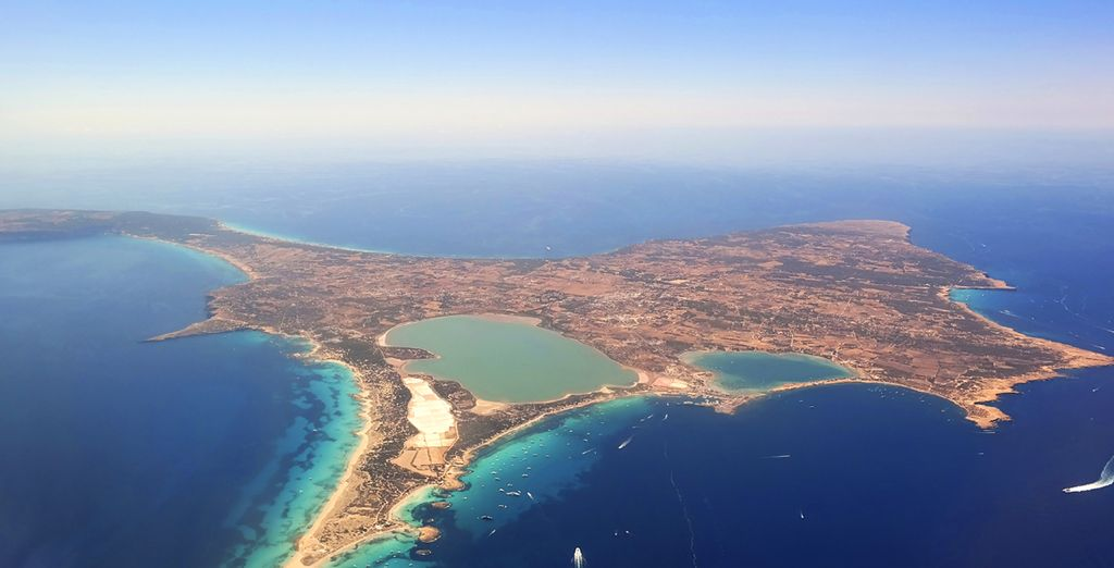 Or take a trip to the beautiful island of Formentera