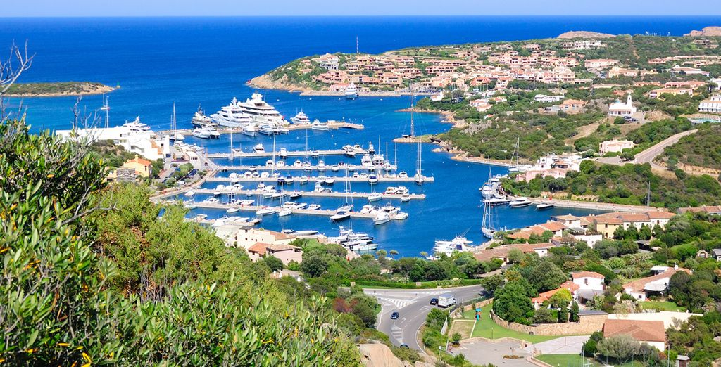 Explore the seaside resort of Porto Cervo