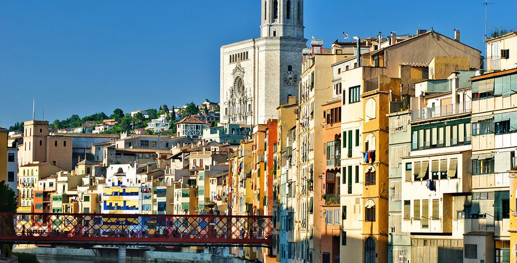 The city of Girona has much to offer