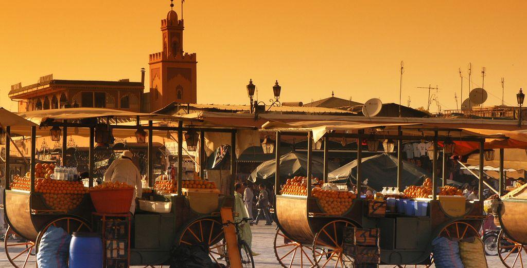 Marrakech is a wondrous place