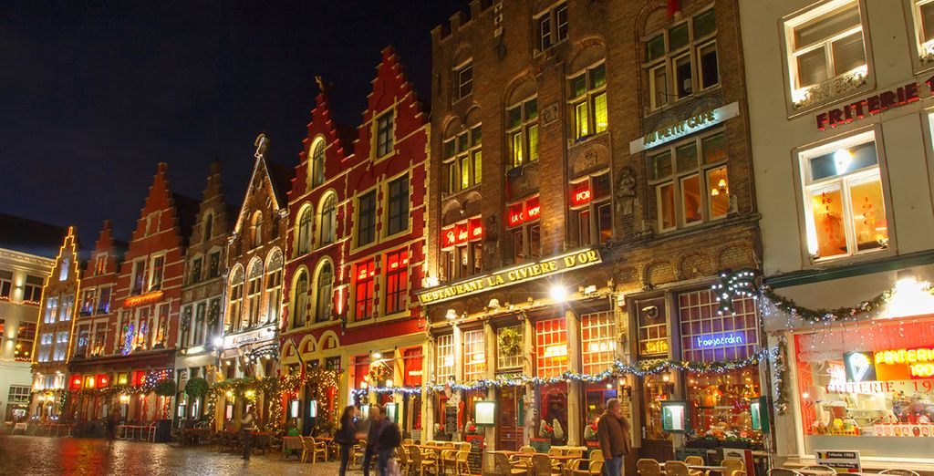 Visit the city during Christmas time