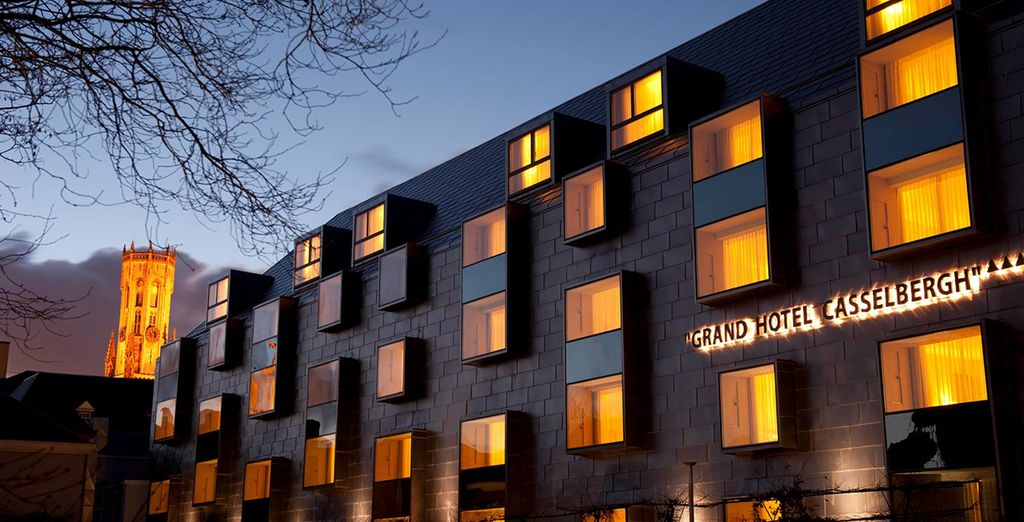 All while staying at the award-winning Grand Hotel Casselbergh